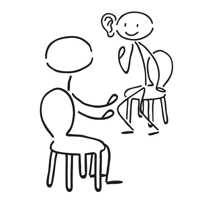 Coaching beginnt mit zuhören